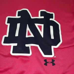 Youth Notre Dame Pink Sweatshirt